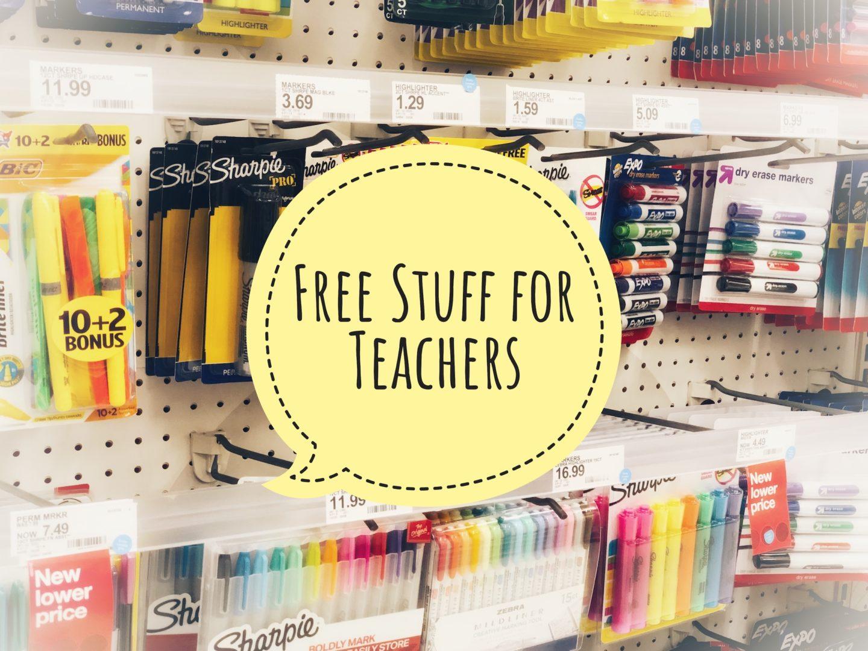 Free Stuff for Teachers